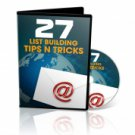 27 List Building Tips n Tricks - Video Series