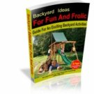 Backyard Ideas for Fun and Frolic eBook