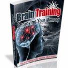 Brain Training - Improving Your Memory eBook