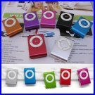 Mini Clip MP3 Player clip mp3 50pcs per lot hot sale with 9colors