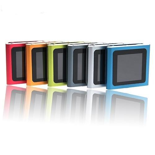 20pcs per lot MINI Touh screen MP3 Player with FM Radio (nano 6th gen style)