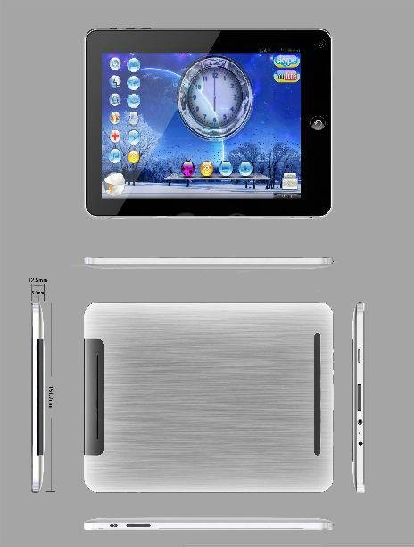 Freeshipping 8inch Touchscreen MID Netbook Android 2.3 eeoffer.com