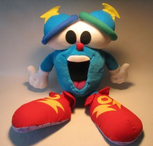 Atlanta 1996 Olympic Games Mascot Izzy 15 inch plush