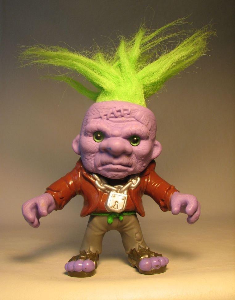 Battle Trolls 5 Inch Franken Troll 1992 Hasbro Loose