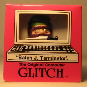 Computer Glitch 2 inch figure 1989 - Batch Terminator