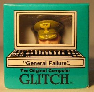 Computer Glitch 2 inch figure 1989 - General Failure