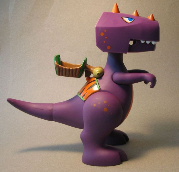 Little Tikes B.C. Builders Tyrannosaurus Rex LOOSE