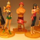 One Piece Bandai Styling Treasure Gate Set of 5