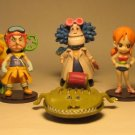 One Piece Banpresto Strong World - Set of 8  SD  figs