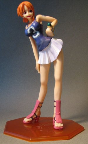 One Piece POP Nami cheerleader 8 inch LOOSE