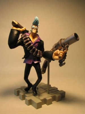 One Piece Strong World Franky 7 inch LOOSE