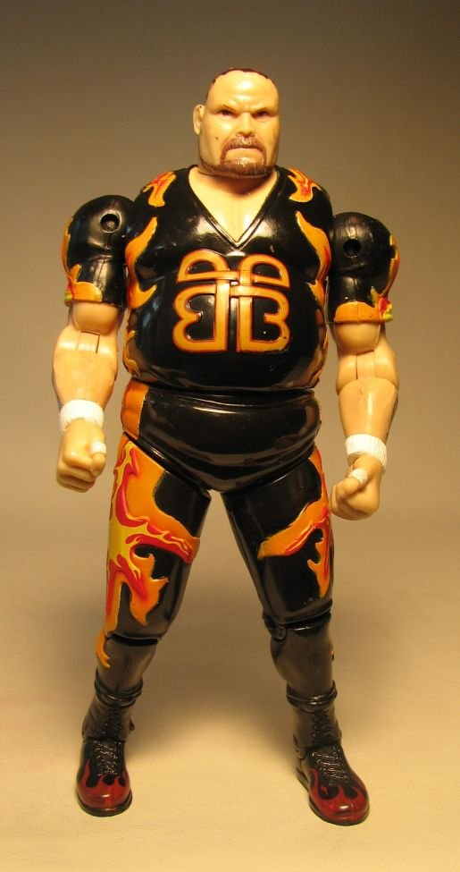 How To Figure Out Sales Tax >> Toy Biz WCW figure Bruisers Bam Bam Bigelow LOOSE