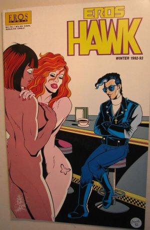EROS Adult Comic - Eros Hawk Winter 1992