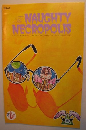 EROS Adult Comic - The Naughty Necropolis #1