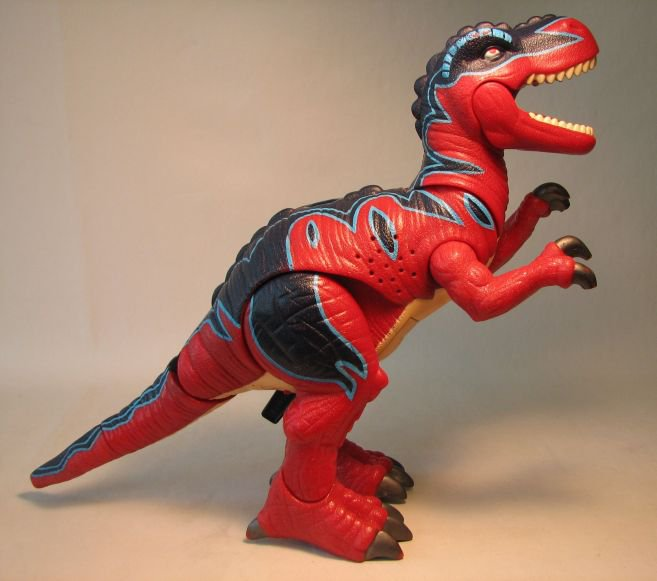 Fisher Price Imaginext Red T Rex Loose