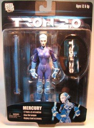 NECA Tron 2.0 action figure Mercury  6.5 inch 2003
