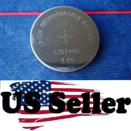 Li-ion Rechargeable LiR2450 Coin Cell Battery