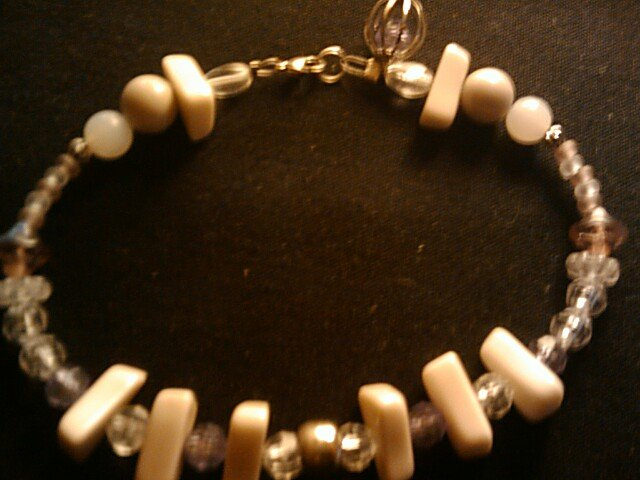 """handcrafted  10""""  anklet"""