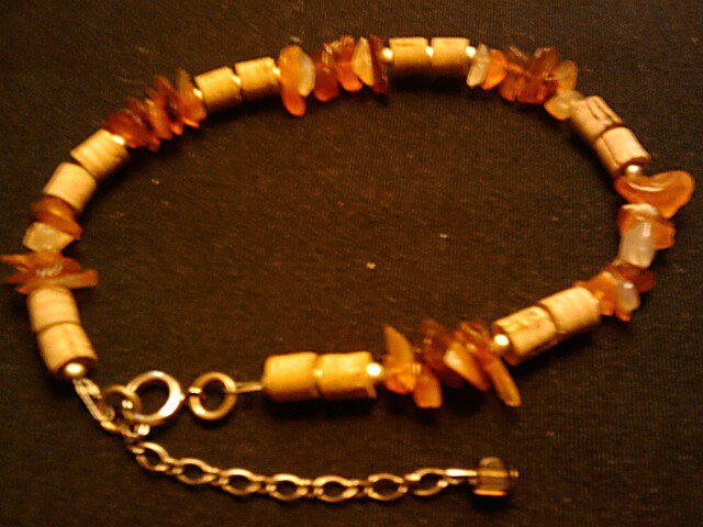 """handcrafted 10""""-12"""" fashion anklet"""