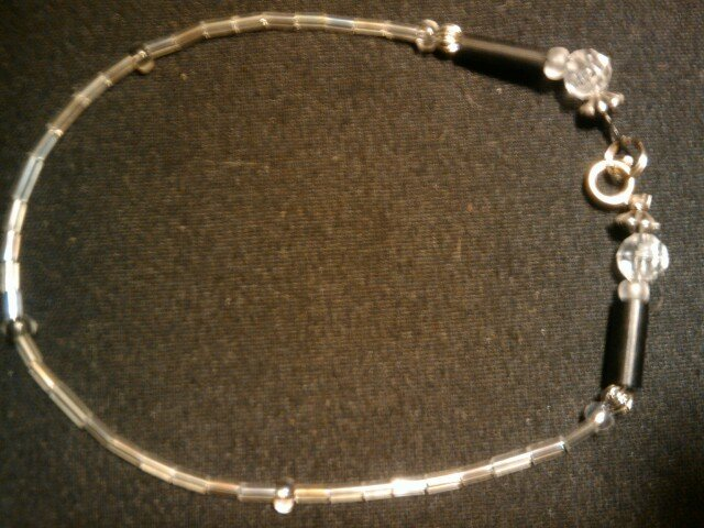 """handcrafted 10"""" casually alluring fashion anklet"""