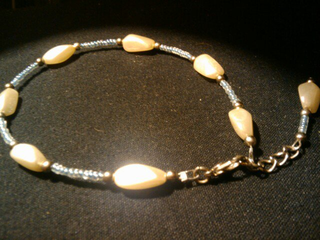 """Handcrafted  fashion anklet fits 10""""-12"""" adjustable clasp"""