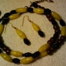 """handcrafted  double wrap around 11"""" fashion anklet"""