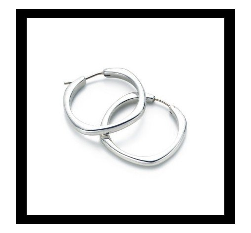 Cushion Hoop earrings