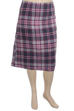 Plus Pink Woven Knee Length Skirt 1XL, 2XL, 3XL