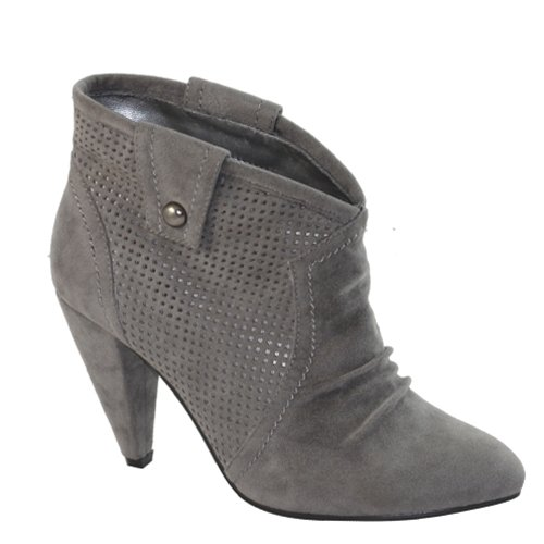 Grey Ankle Booties SIZE 6