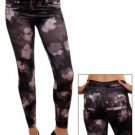 Charcoal Distressed Jeggings ONE SIZE FITS ALL