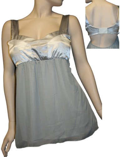 Silver and Grey Blouse SMALL, MEDIUM, LARGE
