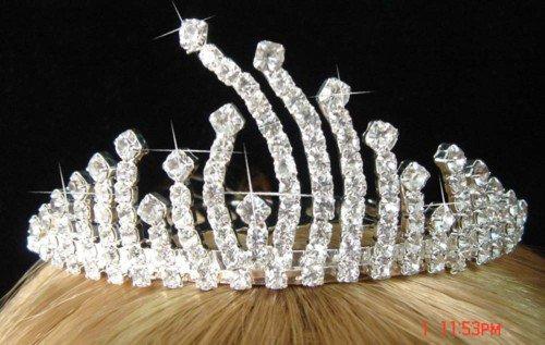 Crystal Crown Crystal Tiara Hair Jewelry