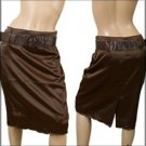 Brown Knee Length Skirt SMALL MEDIUM LARGE