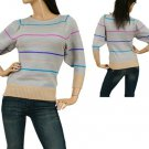 Grey Striped Sweater SMALL, MEDIUM, LARGE