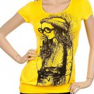 Yellow Ladies Tee SMALL, MEDIUM, LARGE