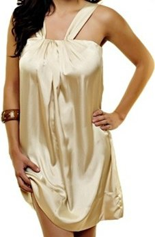 Gold Coloured Dress SMALL, MEDIUM, LARGE