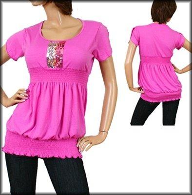 Lavender Short Sleeve Shirt 1XL, 3XL