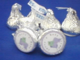 Hershey kiss labels 100 count. Party favors