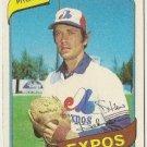 """STAN BAHNSEN """"Montreal Expos"""" 1980 #653 Topps Baseball Card"""