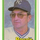 "JIM FREY ""Kansas City Royals"" 1981 #464 Donruss Baseball Card"