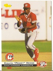 """CALVIN REESE """"Chattanooga Lookouts"""" 1994 #108 Classic Baseball Card"""