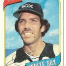 "ED FARMER ""Chicago White Sox"" 1980 #702 Topps Baseball Card"