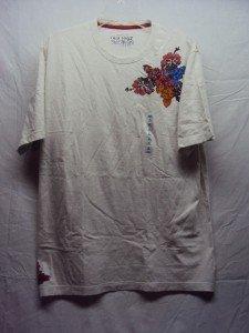OLD NAVY Men's Graphic Cream T-Shirt SZ X-L NWT