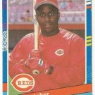 "BILLY HATCHER ""Cincinnati Reds"" 1991 #196 Donruss Baseball Card"