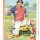 """RON HASSEY """"Cleveland Indians"""" 1982 #54 Topps Baseball Card"""