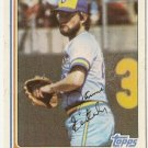 "JAMIE EASTERLY ""Milwaukee Brewers"" 1982 #122 Topps Baseball Card"