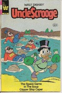 "WALT DISNEY (UNCLE SCROOGE) 1982 ""WHITMAN"" Comic Book"