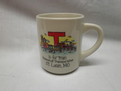 """""""T"""" IS FOR TRAIN Coffee Cup"""