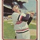 "DANNY THOMPSON ""Minnesota Twins"" 1974 #168 Topps Baseball Card"