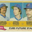 1981 CHICAGO CUBS FUTURE STARS #381 Topps Baseball Card